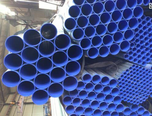 涂塑复合钢管与卷管长度的差别